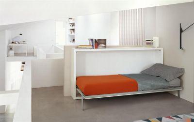 "Viengulių lovų ir rašomojo stalo sistema ""Poppi + Desk"""