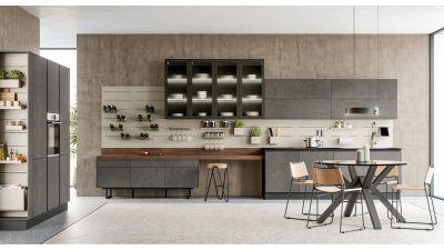 """Virtuvės baldų kolekcija """"Round"""""""