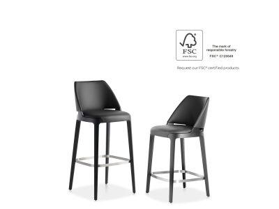 """Pusbario/Baro kėdė """"Velis"""""""