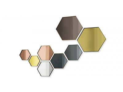 "Veidrodis ""Visual Hexagonal"""